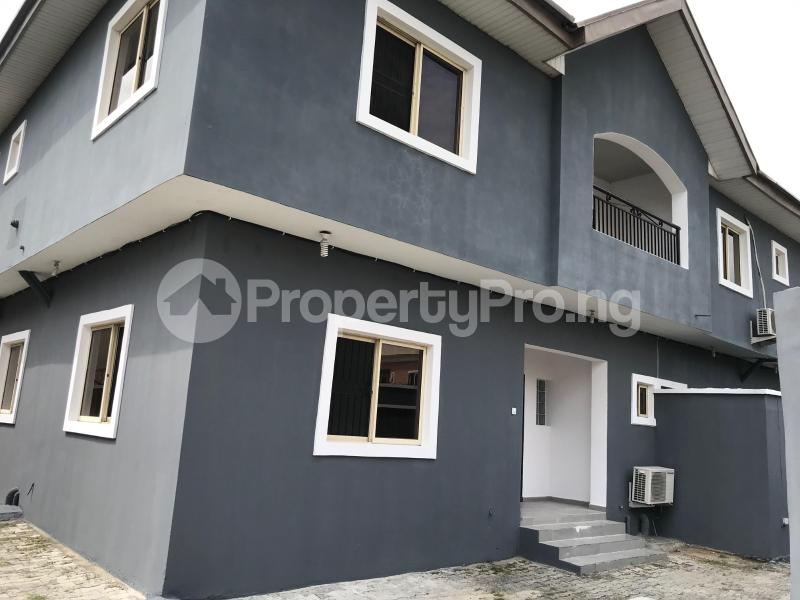 4 bedroom Semi Detached Duplex House for rent - Lekki Lagos - 0