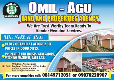 Omil-Agu Land&property Agent