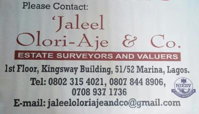 'Jaleel Olori-Aje & Co.