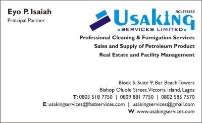 USAKING SERVICES LTD
