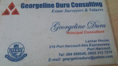 Georgeline Duru consulting