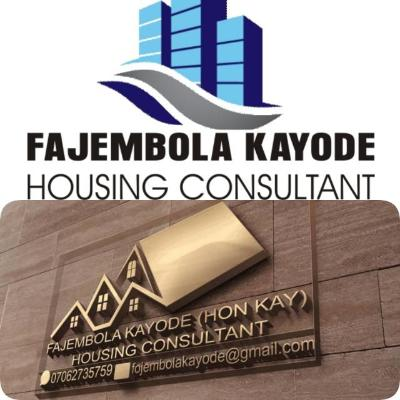 FAJEMBOLA  KAYODE  HOUSING CONSULTANT