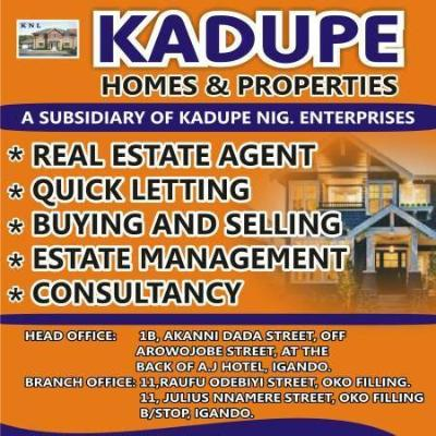 Kadupe homes & property