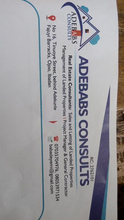 Adebabs consults