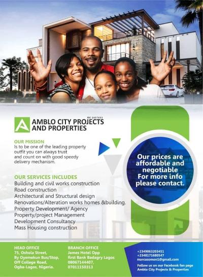 Amblo City Projects And Properties