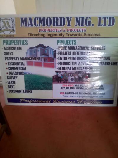 Macmordy Nigeria Limited