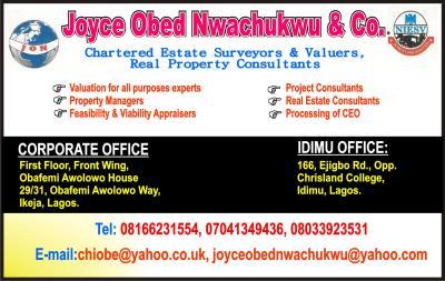 Joyce Obed Nwachukwu
