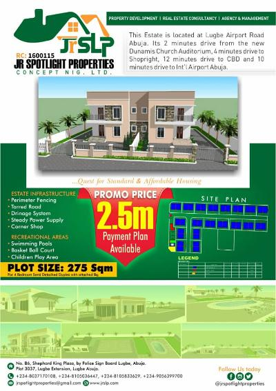 Jr Spotlight Property Concept Nig Ltd