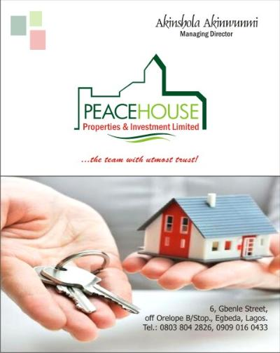 PEACEHOUSE PROPERTIES AND INVESTMENT LIMITED