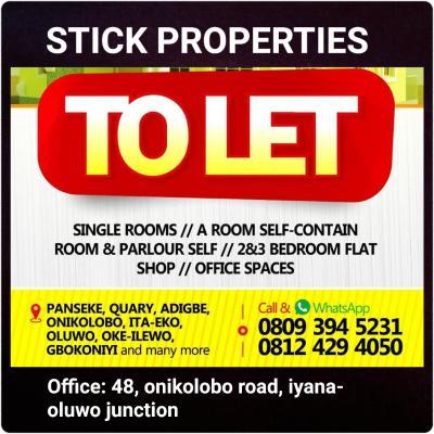 Stick properties