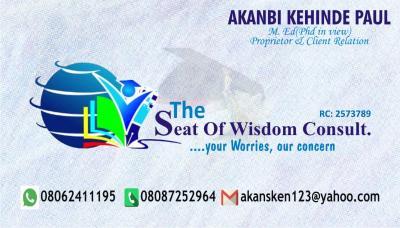 Seat of wisdom consult