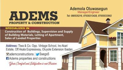 Adem Real Estate Properties and Construction