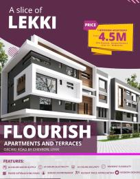 1 bedroom mini flat  Semi Detached Duplex House for sale orchid road chevron Lekki Lagos