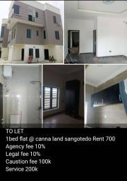 1 bedroom mini flat  Self Contain Flat / Apartment for rent Canna Land  Sangotedo Ajah Lagos