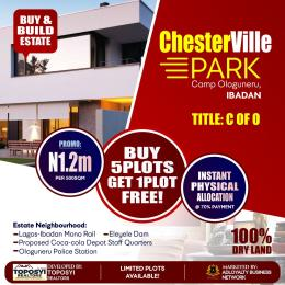 Residential Land Land for sale Camp Ologuneru,  Ibadan  Eleyele Ibadan Oyo