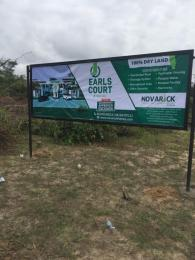 Land for sale Earls Court is about 5minutes drive to the New International Airport, off Lekki Epe Expressway  by Nipco Filling station. Eleranigbe Ibeju-Lekki Lagos