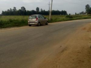 Land for sale Afon main road, Afon Asa Kwara