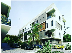 3 bedroom Massionette House for sale Elegushi Lekki Phase 2 Lekki Lagos
