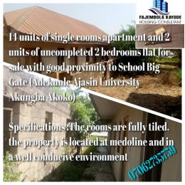 2 bedroom Blocks of Flats House for sale Medoline Street, Off Adekunle Ajasin University Main Gate.  Akoko Ondo