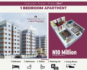 1 bedroom mini flat  Mini flat Flat / Apartment for sale Western Avenue Surulere Lagos