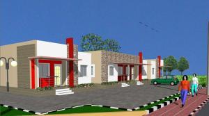 2 bedroom Terraced Bungalow House for sale Vafiero Road Free Trade Zone Ibeju-Lekki Lagos