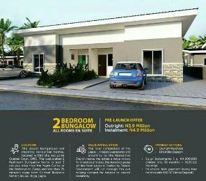 2 bedroom House for sale Cranbel court estate, 2 minutes to redeem youth camp, Sagamu Ogun