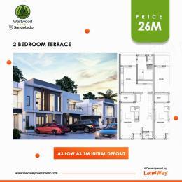 2 bedroom Terraced Duplex House for sale Monastery Road Sangotedo Ajah Lagos