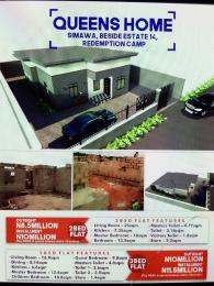 Terraced Bungalow House for sale Shimawa Estate 14 Redemption Camp  Berger Ojodu Lagos