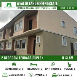 2 bedroom Flat / Apartment for sale WealthLand Green Estate is situated at Oribanwa Lekki Pninsula Lagos Awoyaya Ajah Lagos - 0