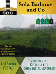 Commercial Land Land for sale 2nd Avenue Festac Amuwo Odofin Lagos