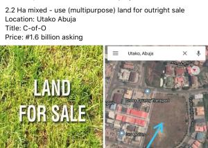 Mixed   Use Land Land for sale Utako Abuja