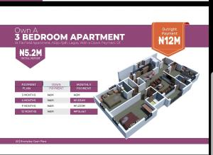 3 bedroom Penthouse Flat / Apartment for sale Abijo ...bus stop, Opp Rain oil filling station ...https://youtu.be/Zm98VazRXoQ Lagos Island Lagos Island Lagos