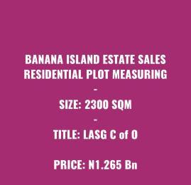 Residential Land Land for sale Banana Island  Banana Island Ikoyi Lagos