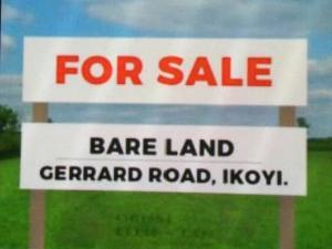 Commercial Land Land for sale Gerard road Gerard road Ikoyi Lagos
