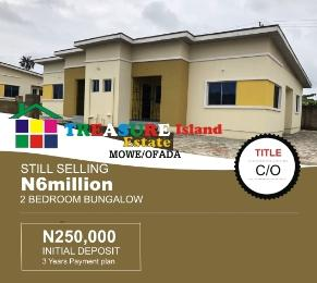 2 bedroom Detached Bungalow House for sale orilemo Mowe Obafemi Owode Ogun - 0