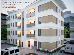 3 bedroom Flat / Apartment for sale Amen Estate Development, Eleko Beach Road, off Lekki Epe Expressway, Ibeju Lekii, Lagos, Nigeria  Eleko Ibeju-Lekki Lagos
