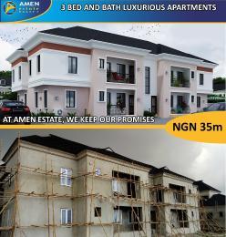 3 bedroom Terraced Duplex House for sale eleko Beach road îbeju lekki Lagos state Eleko Ibeju-Lekki Lagos