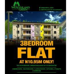 3 bedroom Blocks of Flats House for sale Oribanwa, Lekki Peninsula Oribanwa Ibeju-Lekki Lagos - 0