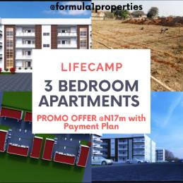 3 bedroom Flat / Apartment for sale 5 minutes from Jabi link bridge Life Camp Abuja