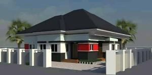 3 bedroom Detached Bungalow House for sale Blue Stone Treasure Estate Mowe Obafemi Owode Ogun