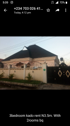 3 bedroom Semi Detached Bungalow House for rent kADO Kado Abuja