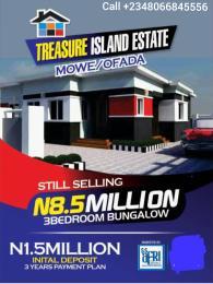 3 bedroom Detached Bungalow House for sale Orile Emo Town Ofada Obafemi Owode Ogun