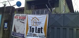 3 bedroom Flat / Apartment for rent Akinwale street Ogba Bus-stop Ogba Lagos
