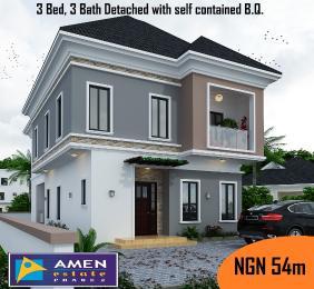 3 bedroom Detached Duplex House for sale amen estate Eleko Ibeju-Lekki Lagos