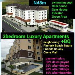 3 bedroom Flat / Apartment for sale Friends Colony  Jakande Lekki Lagos - 0