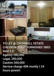 3 bedroom Flat / Apartment for rent - chevron Lekki Lagos