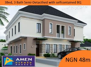 3 bedroom Semi Detached Duplex House for sale Amen Estate Eleko Ibeju-Lekki Lagos