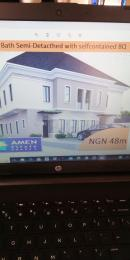3 bedroom Detached Duplex House for sale Along the costar road  Eleko Ibeju-Lekki Lagos