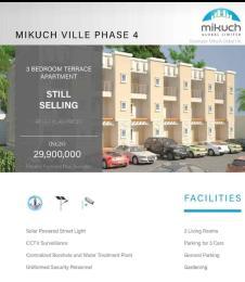 3 bedroom Terraced Duplex House for sale Mikuch ville phase 4 Gaduwa Abuja
