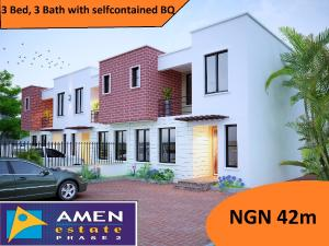 3 bedroom Terraced Duplex House for sale Amen Estate Eleko Ibeju-Lekki Lagos